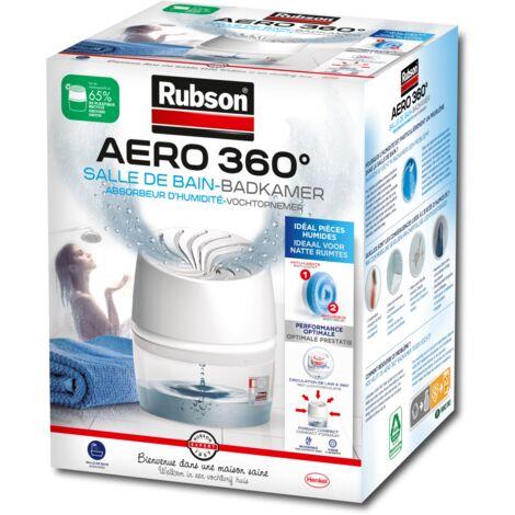 Absorbeur d'humidite aero360 salle de bain rubson