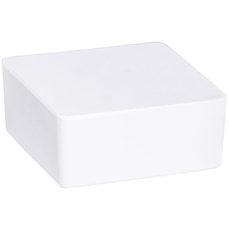 Absorbeur d'humidité Cube 500 g blanc - Dim : 13 x 13 x 13 cm -PEGANE-