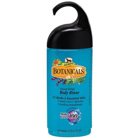 Absorbine Botanicals Natural Herbal Horse Body Rinse Liquid (251ml) (Blue)