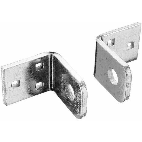 ABUS 115100C 115/100 Locking Brackets Pair Carded