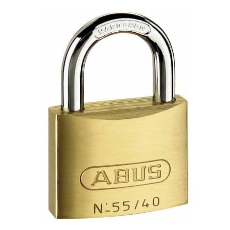 55/25mm Brass Padlock Carded (ABU5525C)