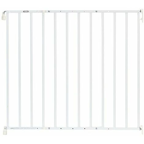 Abus 73151Pied de Porte et escaliers Grille métallique Tim jc9210W Blanc