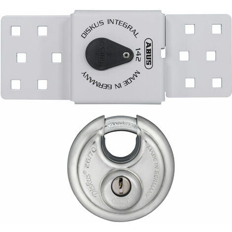 ABUS 83978 142 Series Sliding Door Van Lock & 26/70mm Diskus® Padlock