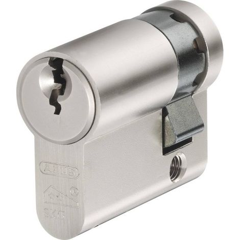 Abus Abus E60NP Nickel Perle 10/35 C Demi Cylindre