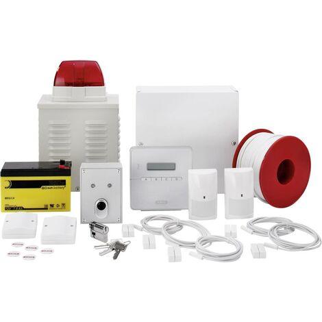 ABUS Alarmanlagen-Sets Terxon SX AZ4301 Alarmzonen 8x Drahtgebunden, 1x Sabotagezone V036151