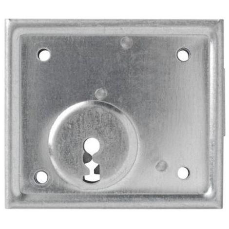 ABUS Aufschraubschloss ASS zur Aufnahme von Türzylindern, mit oder ohne Buntnbartschlüssel
