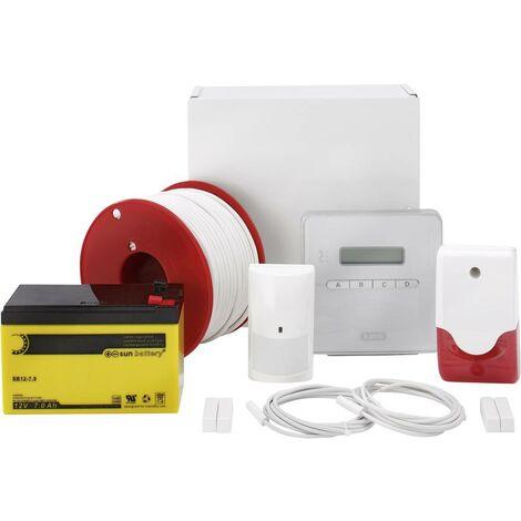 ABUS AZ4298 Terxon SX Alarmanlagen-Sets Alarmzonen 8x Drahtgebunden, 1x Sabotagezone V036171
