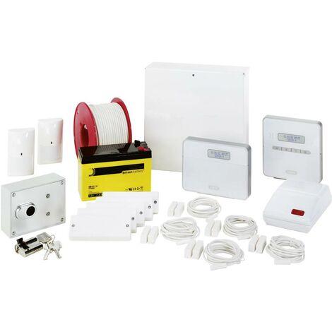 ABUS AZ4350 Terxon SX Profiline Alarmanlagen-Sets Alarmzonen 8x Drahtgebunden, 1x Sabotagezone D39496