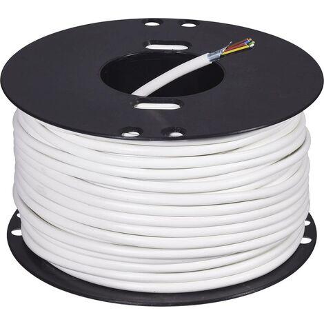 ABUS AZ6360 Alarmkabel LiFY 8 x 0.22mm² Weiß 50m D37408