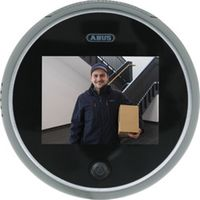 """Abus Digitaler Türspion rund TFT Display 3,2"""" Bildschirm elektronisch DTS3218"""