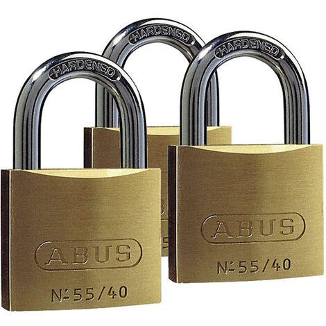 Abus Ensemble de cadenas à clefs - inclu 4 clés interchangeables