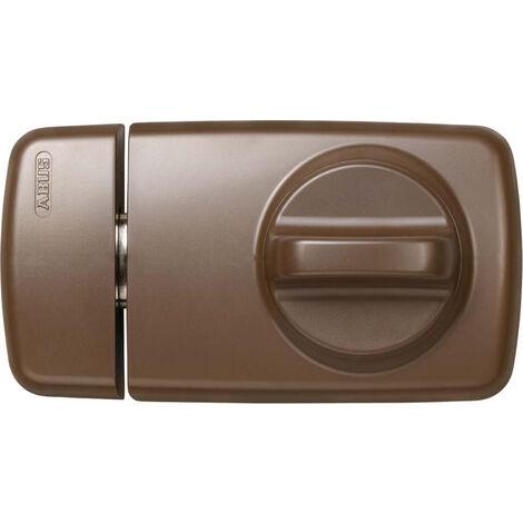 ABUS Türzusatzschloss mit Metallgehäuse 7010 in silber, braun oder weiß