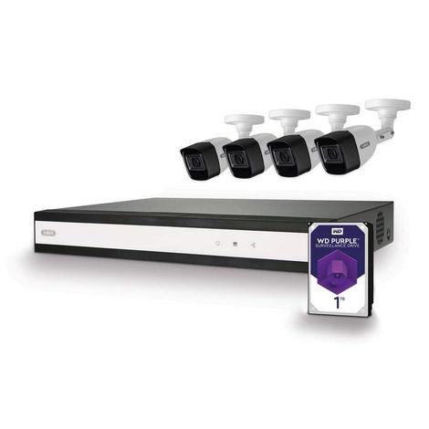 ABUS vidéo Caméra Vidéosurveillance HD analogique Kit complet hybride 8 canaux TVVR33840T