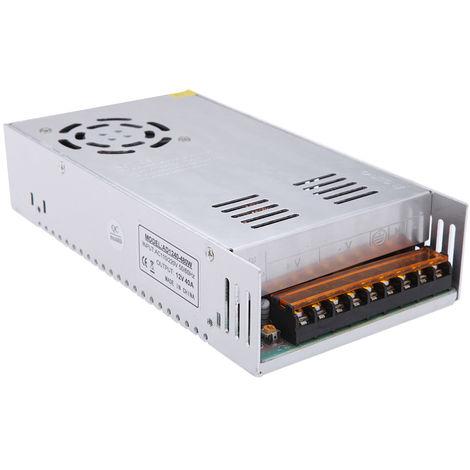 AC 110V / 220V a DC 12V 40A 480W Transformador de voltaje, para tira de led