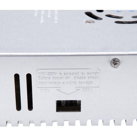 AC 110V / 220V a DC 48V 8.3A, transformador de voltaje 400W, para tira de led