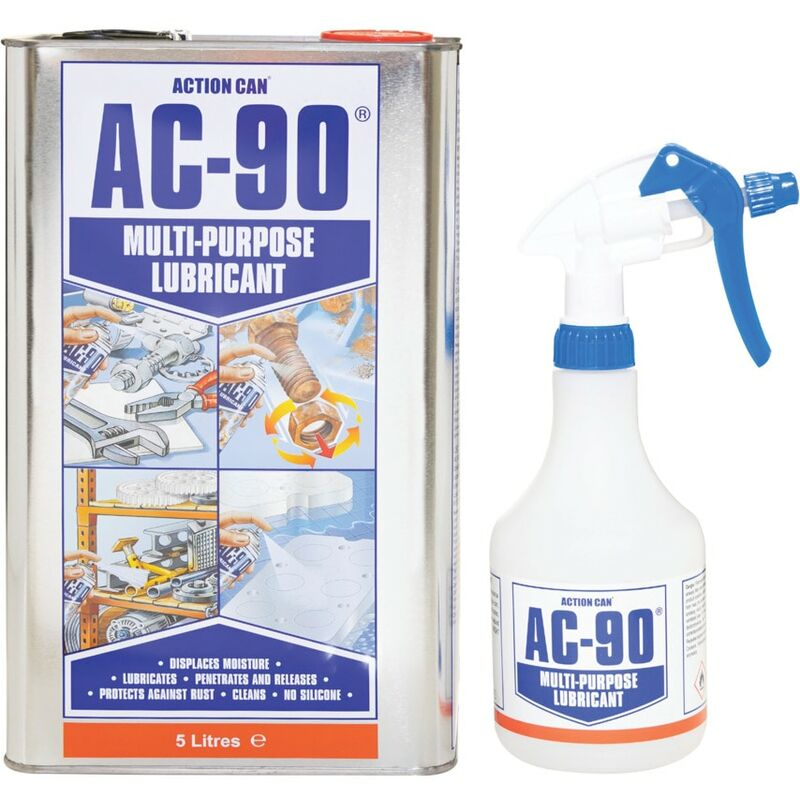 Image of Action Can Multi-purpose Lubricant, AC-90, Trigger Spray, 5LTR