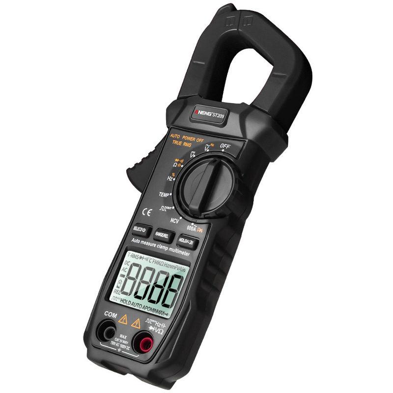 Image of AC / DC Digital Clamp Meter Black