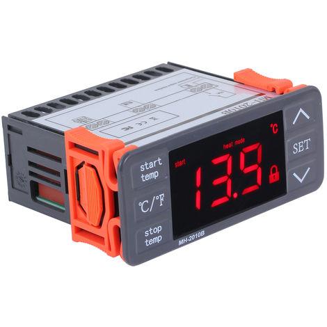 AC220V, controlador digital de temperatura LED, teclas tactiles, ¡ã C / ¡ã F