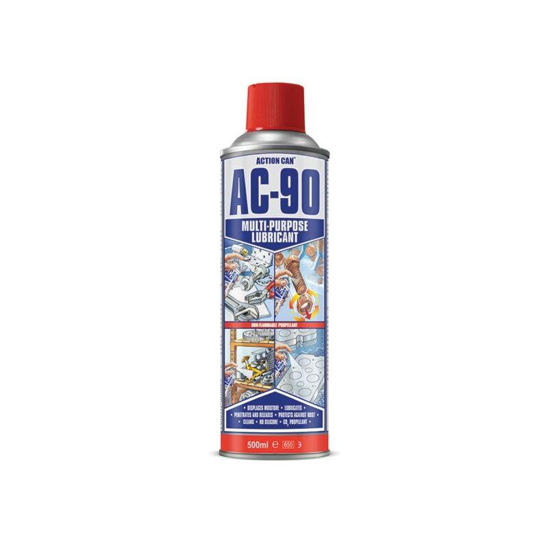 Image of AC-90 FG Aerosol Food Grade LPG - NSF H1 Multi-purpose Lubricant - 50 - Action Can