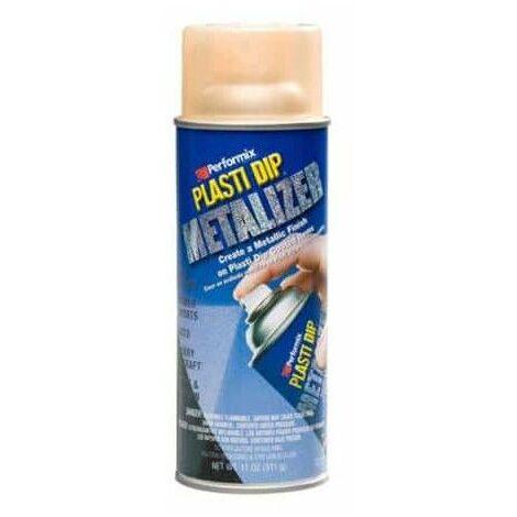 acabado de pintura metálica de aerosol Plasti Dip 400ml cobre