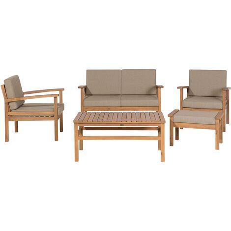 Acacia Wood Garden Conversation Set MANILA