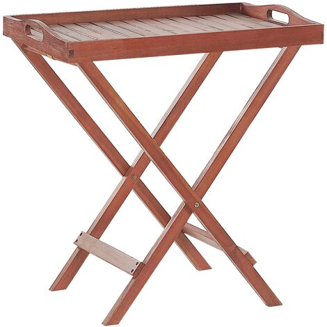 Acacia Wood Garden Tray Table TOSCANA