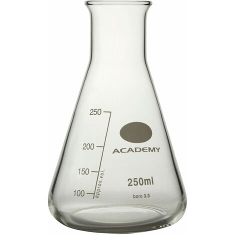 Academy Conical Flasks 250ml - Pack of 6