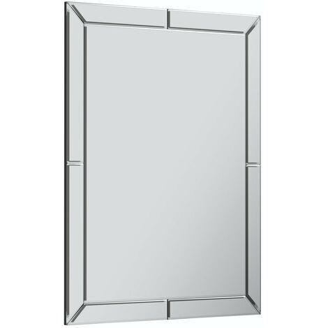 Accents Beaumont bathroom mirror 800 x 600mm