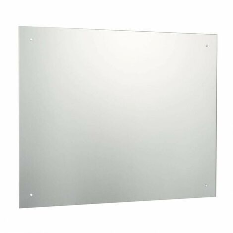 Accents bevelled edge drilled bathroom mirror 500 x 700mm