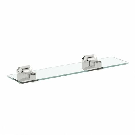 Accents Camberley glass shelf