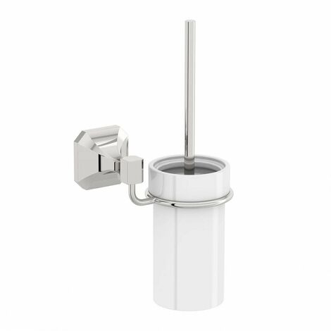 Accents Camberley toilet brush and ceramic holder