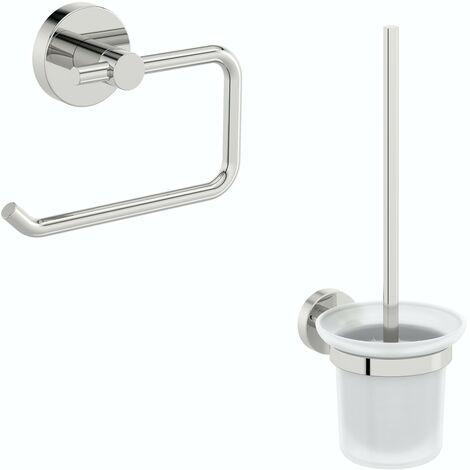 Accents Lunar 2 piece toilet accessory pack