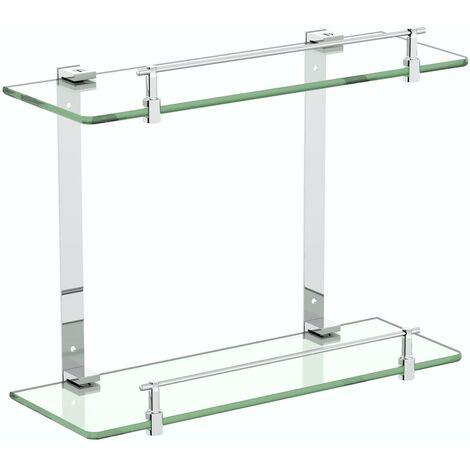 Accents Options double glass shelf