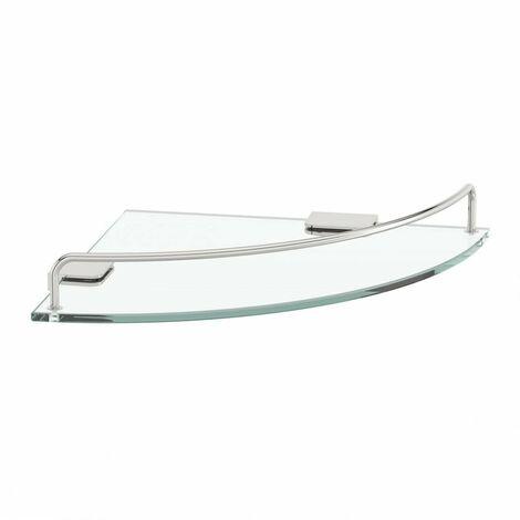 Accents Options round corner glass shelf