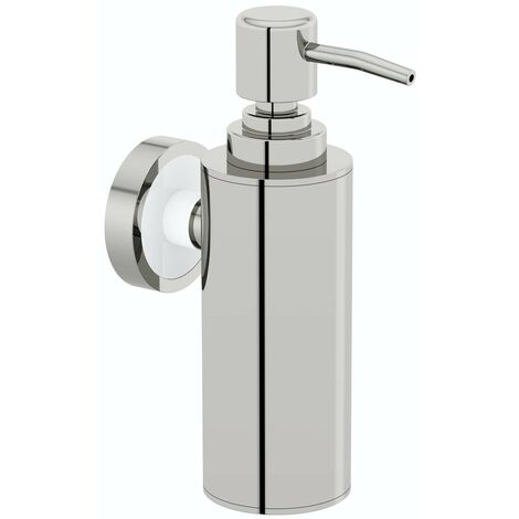 Accents Options wall mounted slim stainless steel soap dispenser