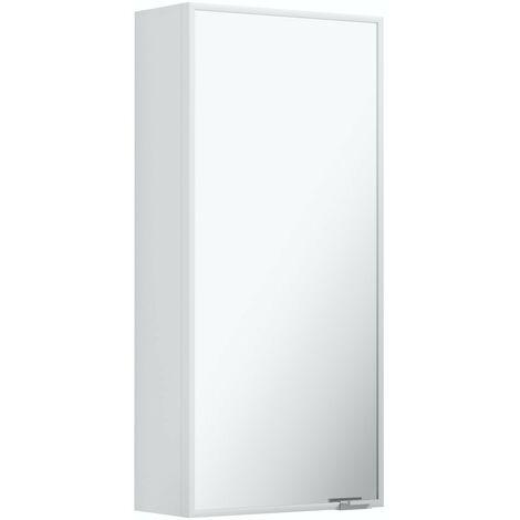 Accents slim mirror cabinet 640 x 300mm