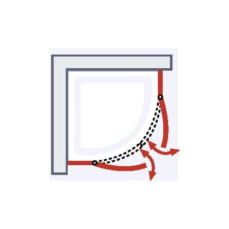 4 trucos para elegir correctamente una puerta de ducha