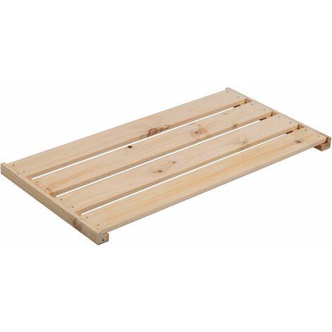 Accesorio balda adicional de madera de pino para estanterías EVOLUTION 3,3X76,7X40 cm