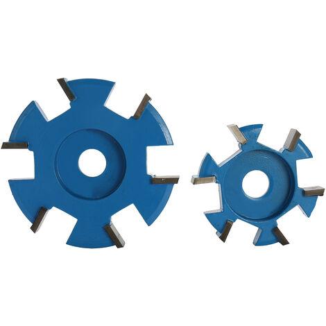 Accesorio de amoladora angular de herramienta de talla de madera de angulo recto de hoja hexagonal