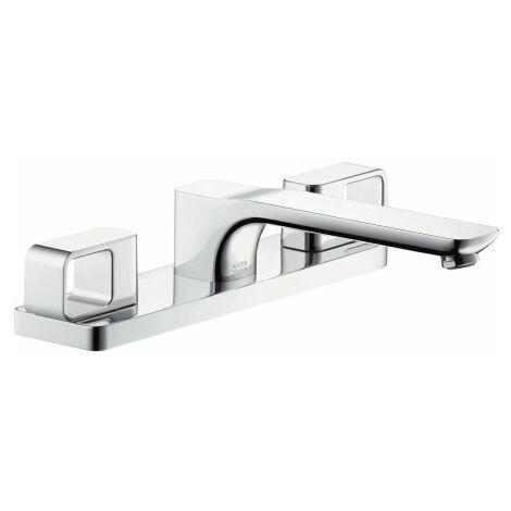 Accesorio de borde de bañera de 3 agujeros Hansgrohe Axor Urquiola, proyección 198mm - 11436000
