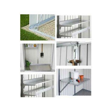 Accesorio Placa De Suelo Aluminio Para Armario Biohort Metalico 150