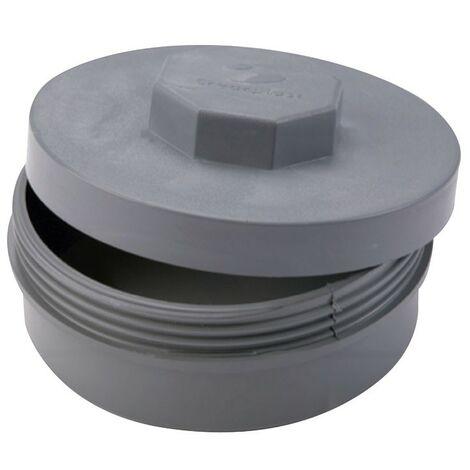ACCESORIO PVC TAPON DE REGISTRO D. 110