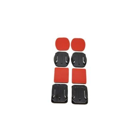 Accesorio soporte adhesivo 3m curvos + planos phoenix para camaras sport & gopro hero 4 - 3+ - 3 - 2 - 1 flat and curved adhesive mounts