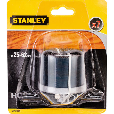 Accesorio Stanley 81005XJ 7 Brocas campana Ø25-62 PR40MM