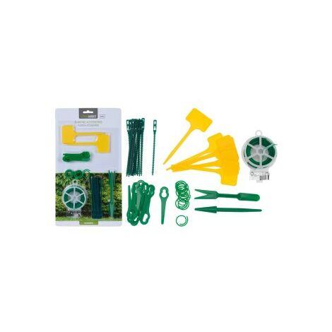 Accesorios jardineria 53 piezas blister