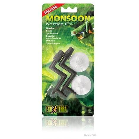 Accesorios Monsoon EXOTERRA - Boquillas 2Pc