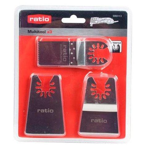 Accesorios multiherramienta kit 3 unidades Multitool Ratio - talla