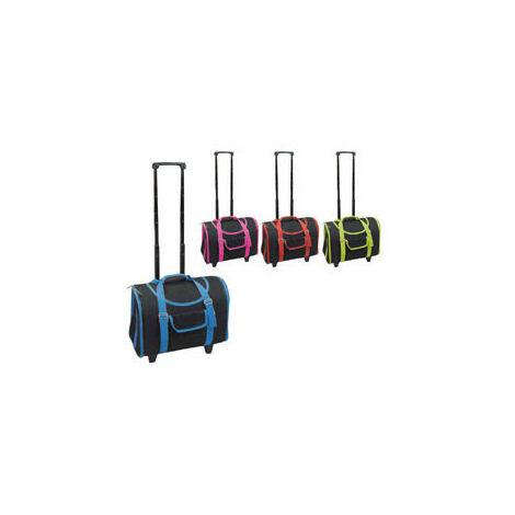 Accesorios para viajes, bolsa trolley ruedas 42x22x35