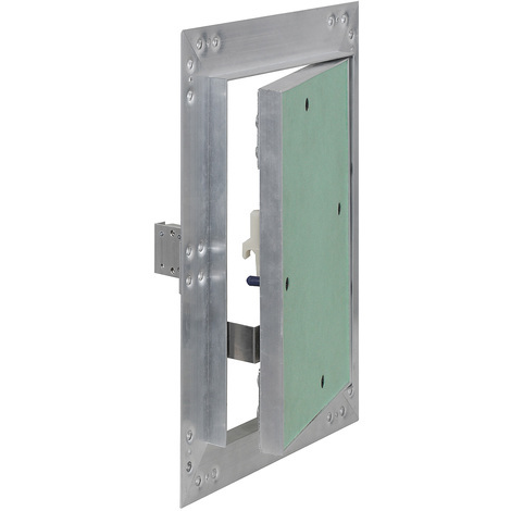 Access Panel Inspection Revision Door 25x40cm Aluminum Frame Hoist Drywall