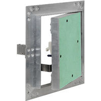 Access Panel Inspection Revision Door 50x50cm Aluminum Frame Hoist Drywall